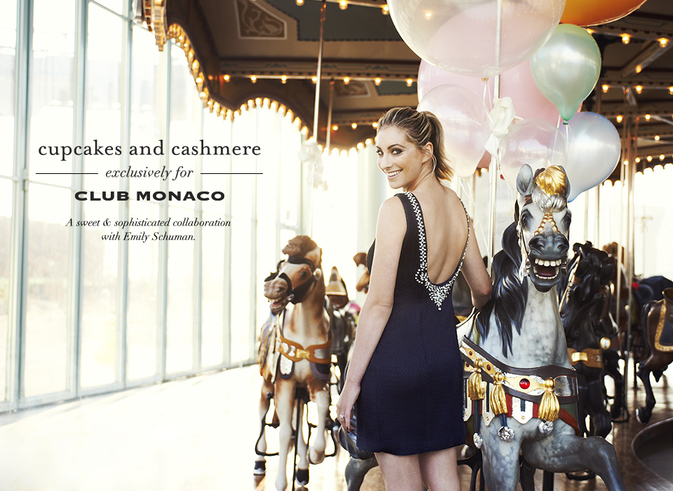 Cupcakes and Cashmere for Club Monaco