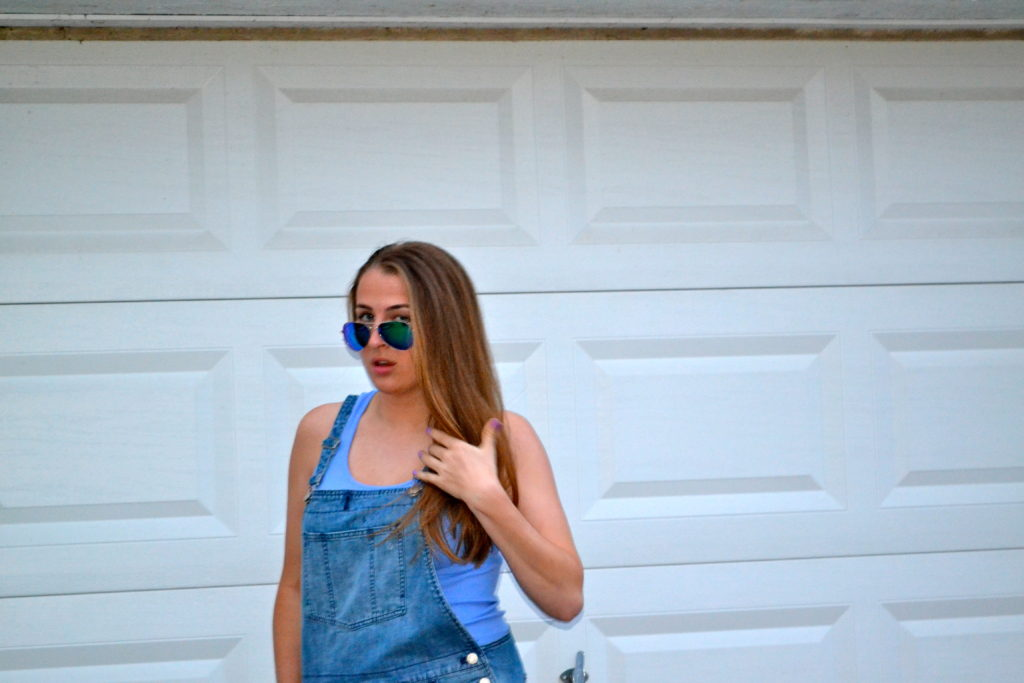 Overalls & Tank Top